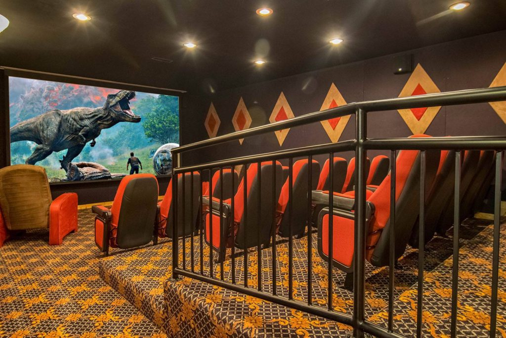 Moose Hollow Lodge Pigeon Forge TN movie theater