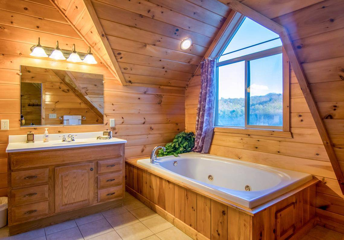 Moose Hollow Lodge Bathroom Ensuite