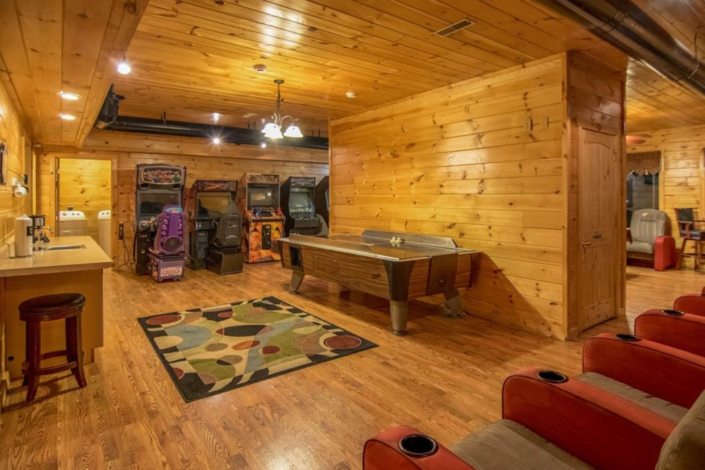 Moose Hollow Lodge Game Room