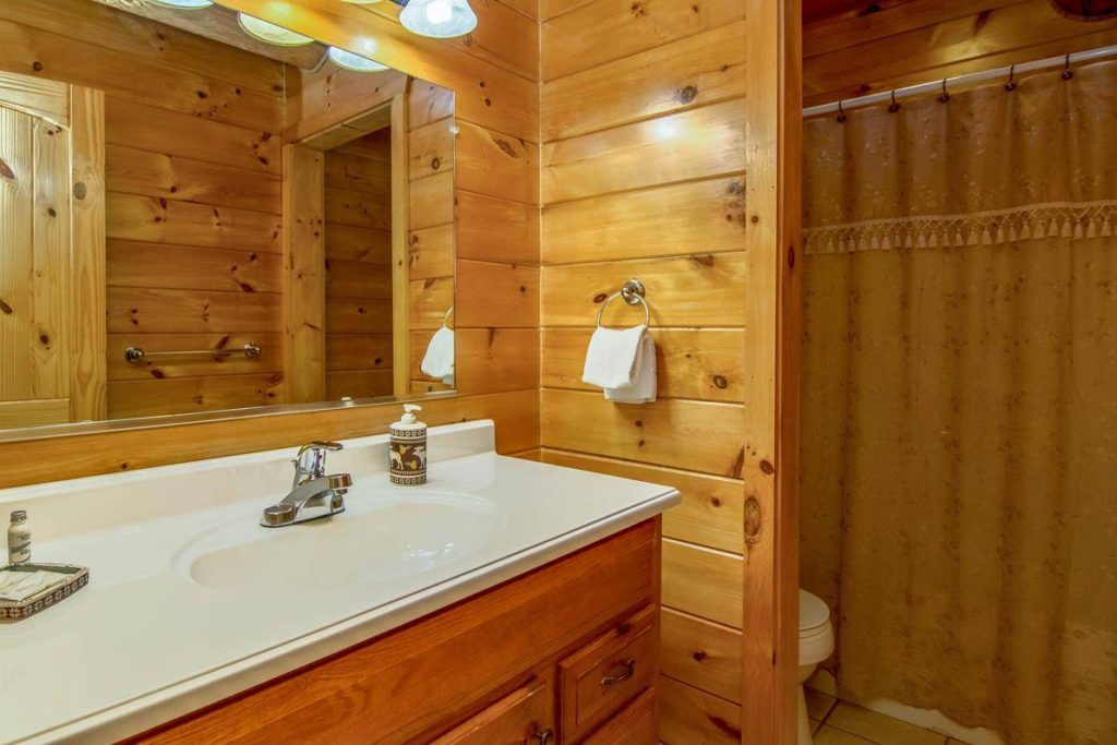 Moose Hollow Lodge Guest Bathroom