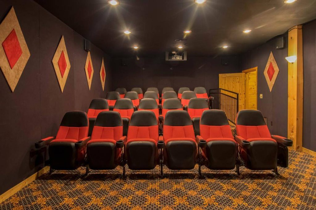 Moose Hollow Lodge Movie Theater2