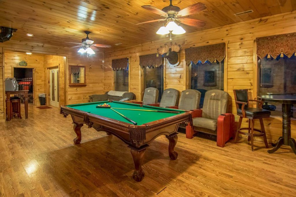 Moose Hollow Lodge Pool Table1