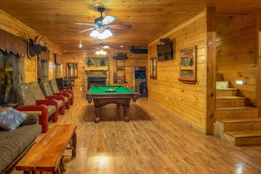 Moose Hollow Lodge Pool Table2