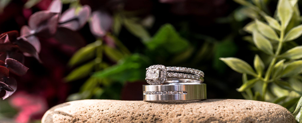 Moose Hollow Lodge Pigeon Forge TN wedding rings
