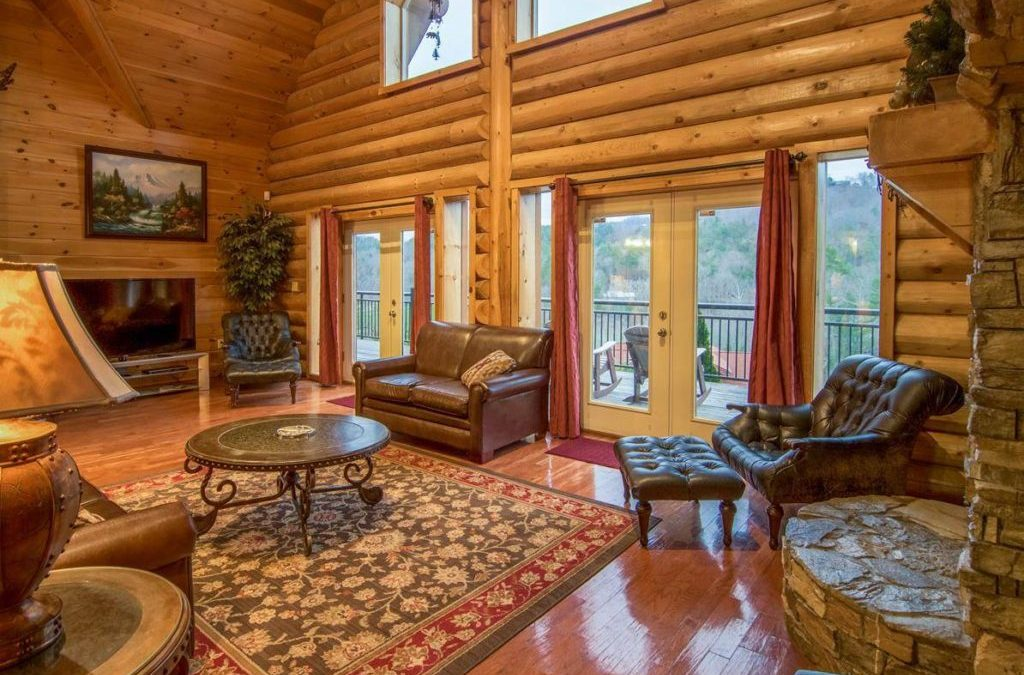 What to Expect On Each Level Of Our Group Cabin In Pigeon Forge